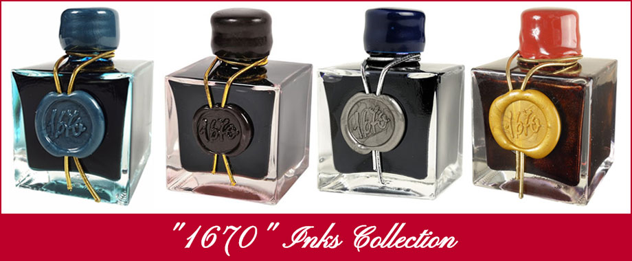 """1670"" Inks Collection"