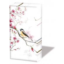 Handkerchief - Bird & Blossom