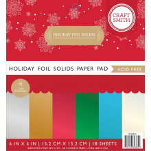Holiday Foil Solids