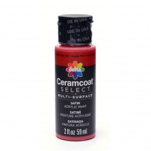 Multi-surface Acrylic Paint - Fire Red