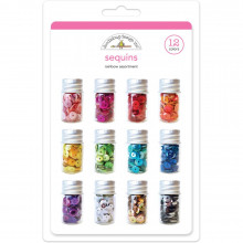 Color Sequins,  Assorted