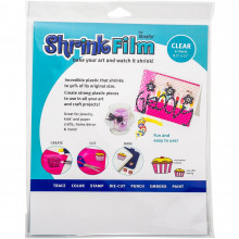 Grafix Shrink Film - Clear
