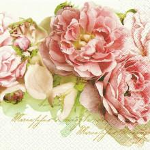 Art Decor Napkin - Mary Roses