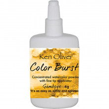 Ken Oliver Color Burst Powder, Gamboge