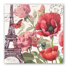 Art Tissue Napkins - Toujours Paris
