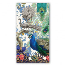 Art Tissue Napkin - Peacock