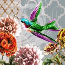 Art Decor Napkin - Colibri