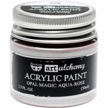 Acrylic Paint, Aqua/Rose