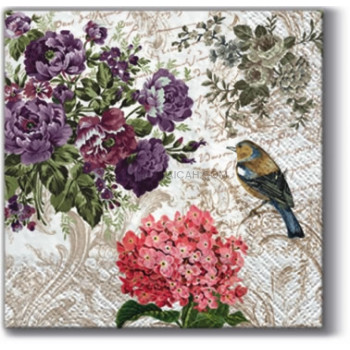 Decor Art Tissue: Charming Garden