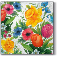 Art Decor Tissue Napkin - Spring Meadow
