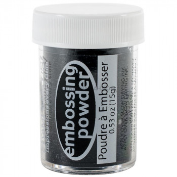 Embossing Powder - Midnight Black Opaque