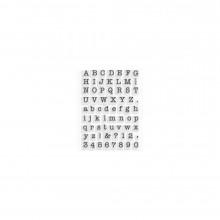 Small Typewriter Alphabet