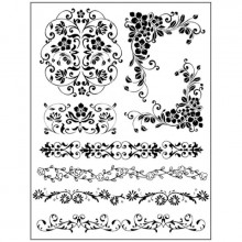 Natural Rubber Stamps, Bordures