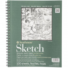 Strathmore Recycled Spiral Sketch Book
