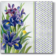 Art Tissue Napkin - Blue Iris