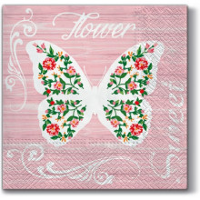 Art Tisue Napkin - Sweet Butterfly